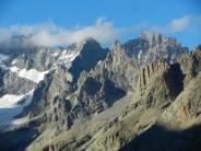 View from Tete de la Maye (Ecrins)