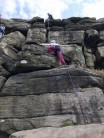 First day seconding at Women's Trad Fest