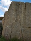 Armoured Cartwheel, f6B / V4, on The Armoured Car block, Burbage South Valley. A worthwhile problem.