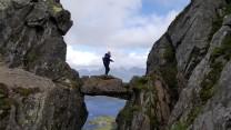 The Devil's Gate on Lofoten