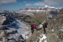 Wintery views on Via Delle Trincee