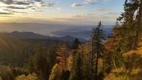 View from kandelfels crag, schwartzwald