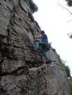 Boulder problem start to bush finish.