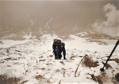 North Face of Damavand mount<br>© Alex 1977 Stone