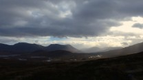 The southern wall of Rannoch Moor