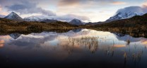 Glen Sligachan and the Red and Black Cuillin Sunset