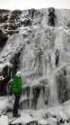 Link Cove Beck RH, upper falls