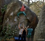 Fontainebleau bouldering doesn't get much better...