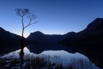 Blue Sunday at the Buttermere Cliché Tree