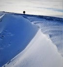 The Wave   (cornice on the Blencathra plateau)
