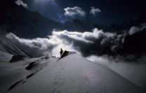Above Annapurna base camp