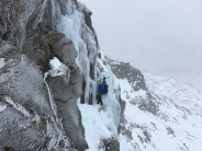 Window Gully Ice Fall - Great End
