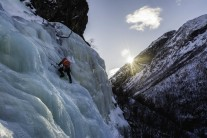 Ice Climbing in Oppdal