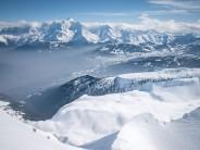 SE Face of Mont Charvet, Aravis