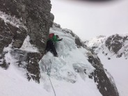 Mark starting Backdoor Chimney