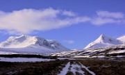 Ben Alder in Alpine conditions<br>© easers