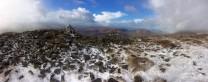 Near summit Pen Allt Mawr. Up from Cwmdu, Powys.