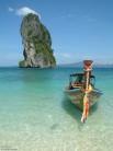 At Poda Island, Thailand