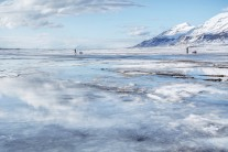 Warmer temperatures as we return to the capital after a successful ascent of Newtontoppen in Svalbard