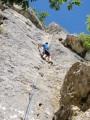 climbing at Rochers du Parc, Loire<br>© dmorgan27