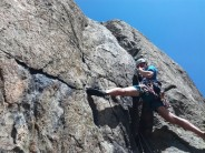 Erik Button attacking the third pitch of Spectre