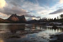 Eidetind from the the island of Storøya