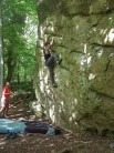 Half way up Apex problem on Combine Boulder