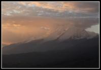 Cumulonimbus over Huantsan (6395m) - Cordillera Blanca