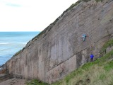Northumberland's best sea-cliff.<br>© Fiend