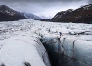 Ice climbing on Svínafellsjökull, Iceland