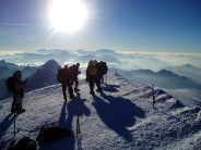 Mt Blanc summit