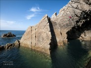 Bridge of Sighs, Jenny's Cove, Lundy.