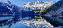 Lake Lovelywater, Tantalus Range, BC Canada