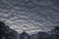 Altocumulus over Lochnagar