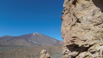 The perfect spot for a stunning view of El Teide