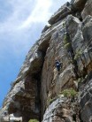 In Your Dreams /  Lower Silvermine Crag / Climber Brian Watts