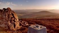 Craiglich trig point and summit cairn