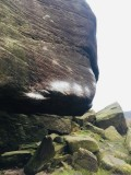 Grit is a precious stone - Low Rider Stanage End. The biggest chalk dab is about 30cm diameter