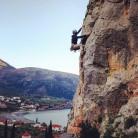 Atmospheric climbing in Kyparissi