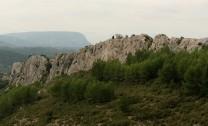 Falaise des Abeilles, from parking area