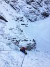 First pitch of Rjukanfossen