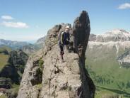 Dolomite pinnacle