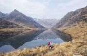The amazing Dubhs Ridge and its mirror image<br>© Dan Bailey - UKHillwalking.com