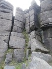 Corner Crack, BAW's Crawl, Stanage.