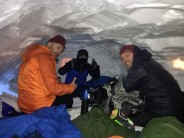 Snow-hole in the Cairngorms