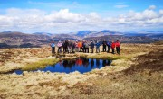 Reflections from Craignarget. WalkFest 2019.<br>© 51Slices