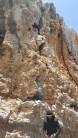 Crag route