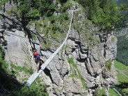 Final Suspension bridge on Muren via Ferrata.