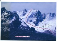 New Route on Korichuma