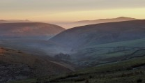 One from the past December 2009 Staffordshire Moorlands distant Roaches